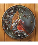 Nature Clock - Winter: Cardinals