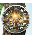 Outdoor Thermometer - Colors of Spring