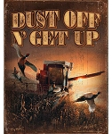 Terry Redlin Tin Sign - Dust Off Get Up