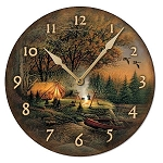 Wall Clock - Evening Solitude II