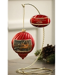 Terry Redlin Holiday Ornament - Family Traditions