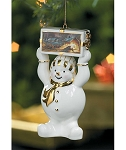 Snowman Statue - Gather Friends