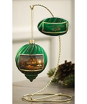 Terry Redlin Holiday Ornament - Lights of Home