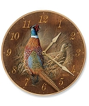 Nature Clock - Late Season Solitude: Pheasant