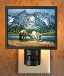 Gallery Night Light - Purple Mountain Majesty