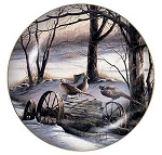 Upland Game Collectible Plate Series - Rusty Refuge III