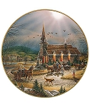 America the Beautiful Plate Series - God Shed His Grace on Thee