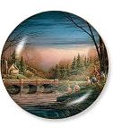 Seasons II Plate Series - Spring Fishing