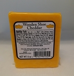 Wooden Shoe Cheddar Flavored Cheese