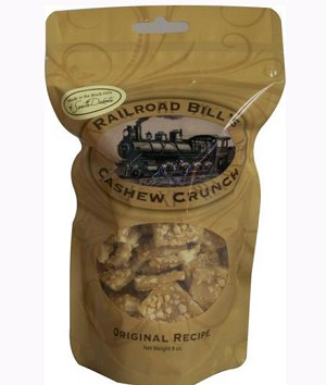 Railroad Bill's Cashew Crunch