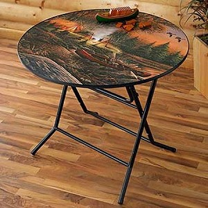 Casual Folding Table - Evening Solitude