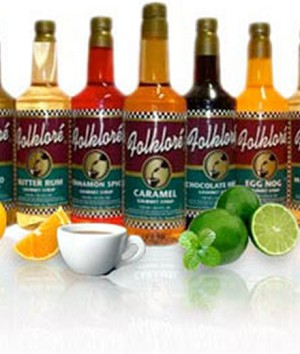 Folklore Gourmet Flavored Syrups