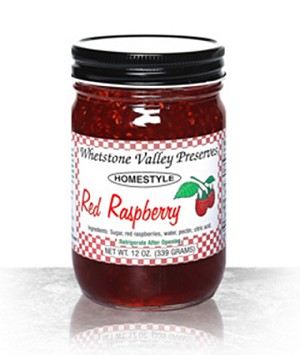 Red Raspberry Whetstone Valley Jam