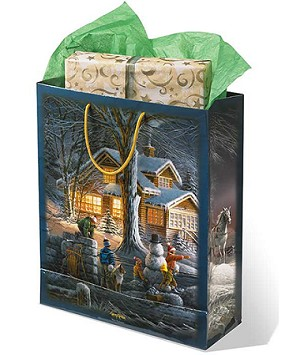 Large Gift Bag - Winter Wonderland