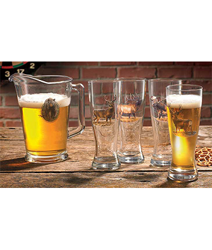 Big Game Pilsner & Pitcher Set
