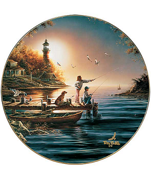 America the Beautiful Plate Series - From Sea to Shining Seas