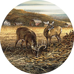 Terry Redlin Coasters - Sharing the Bounty