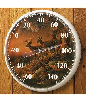 Outdoor Thermometer - Sunset Harvest