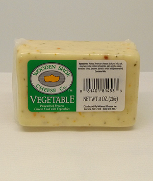 Vegetable Flavor Cheese