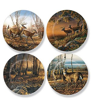 Mini Plate Series - Whitetail Deer